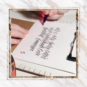 [PROMO 30% OFF] Calligraphy Laser Guide