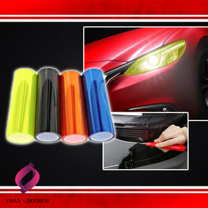 DynaTint Car Headlight Reflector Film