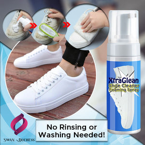 XtraGlean Shoe Cleaner Foaming Spray