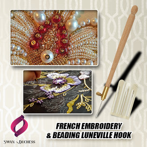 French Embroidery & Beading Luneville Hook