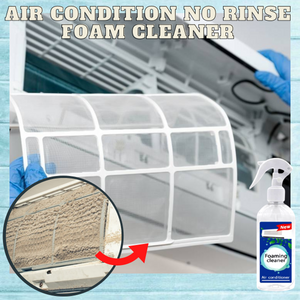 Air Conditioner No Rinse Foam Cleaner
