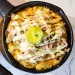 Load image into Gallery viewer, The Cubano Mac n' Cheese | Texas Toast | Fresh Fruit Salad