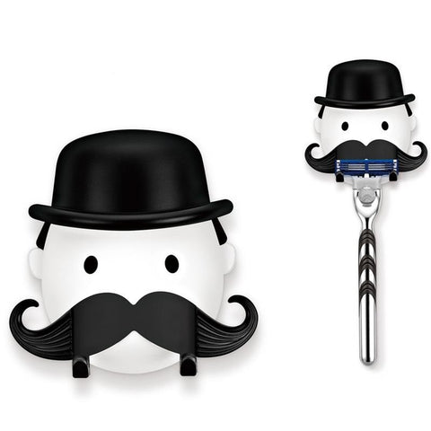 Mr. Moustache Razor Holder