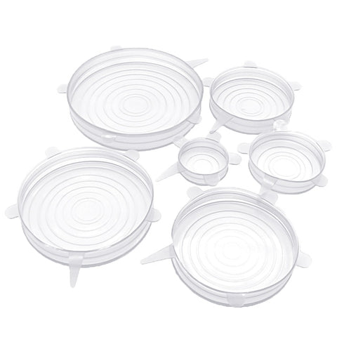 Reusable Silicone Bowl Covers