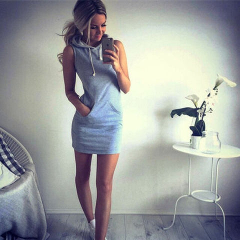 Sporty Pocket Dress