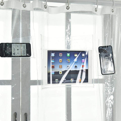 Waterproof Pocket Shower Curtain
