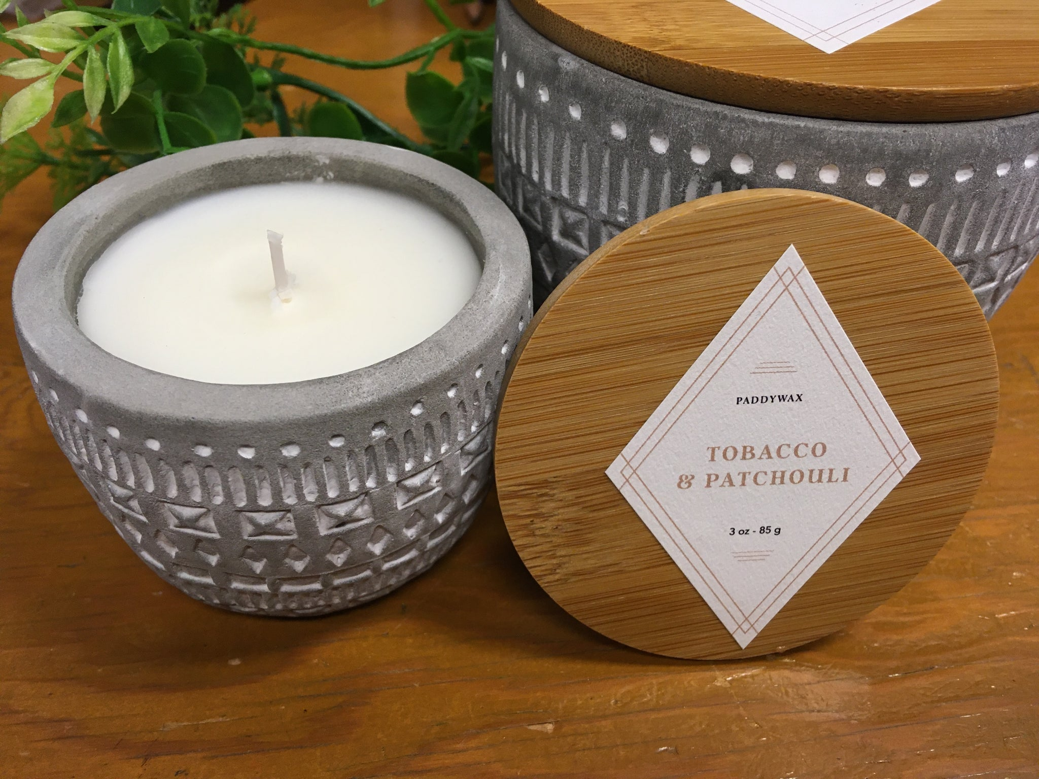 SONORA PATCHOULI & TOBACCO SOY CANDLE - 3 OZ