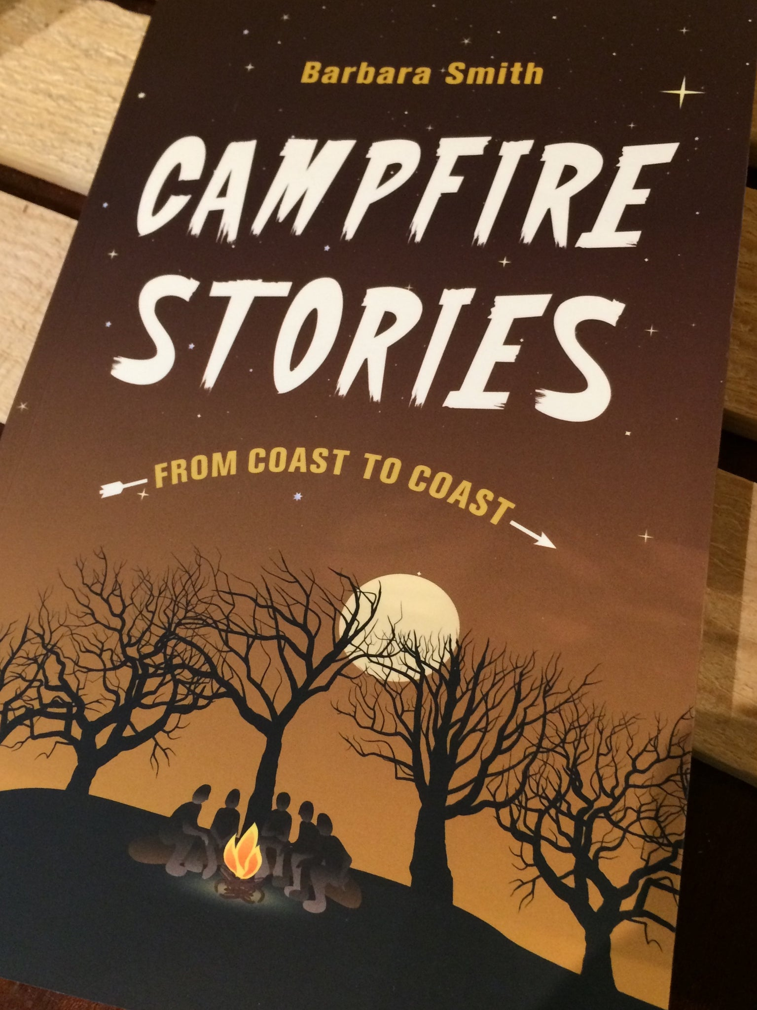 CAMPFIRE STORIES COST TO COAST - BOOK