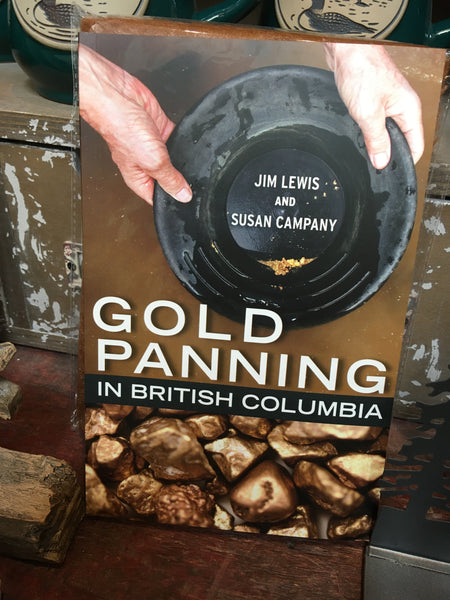 GOLD PANNING IN BRITISH COLUMBIA - BOOK