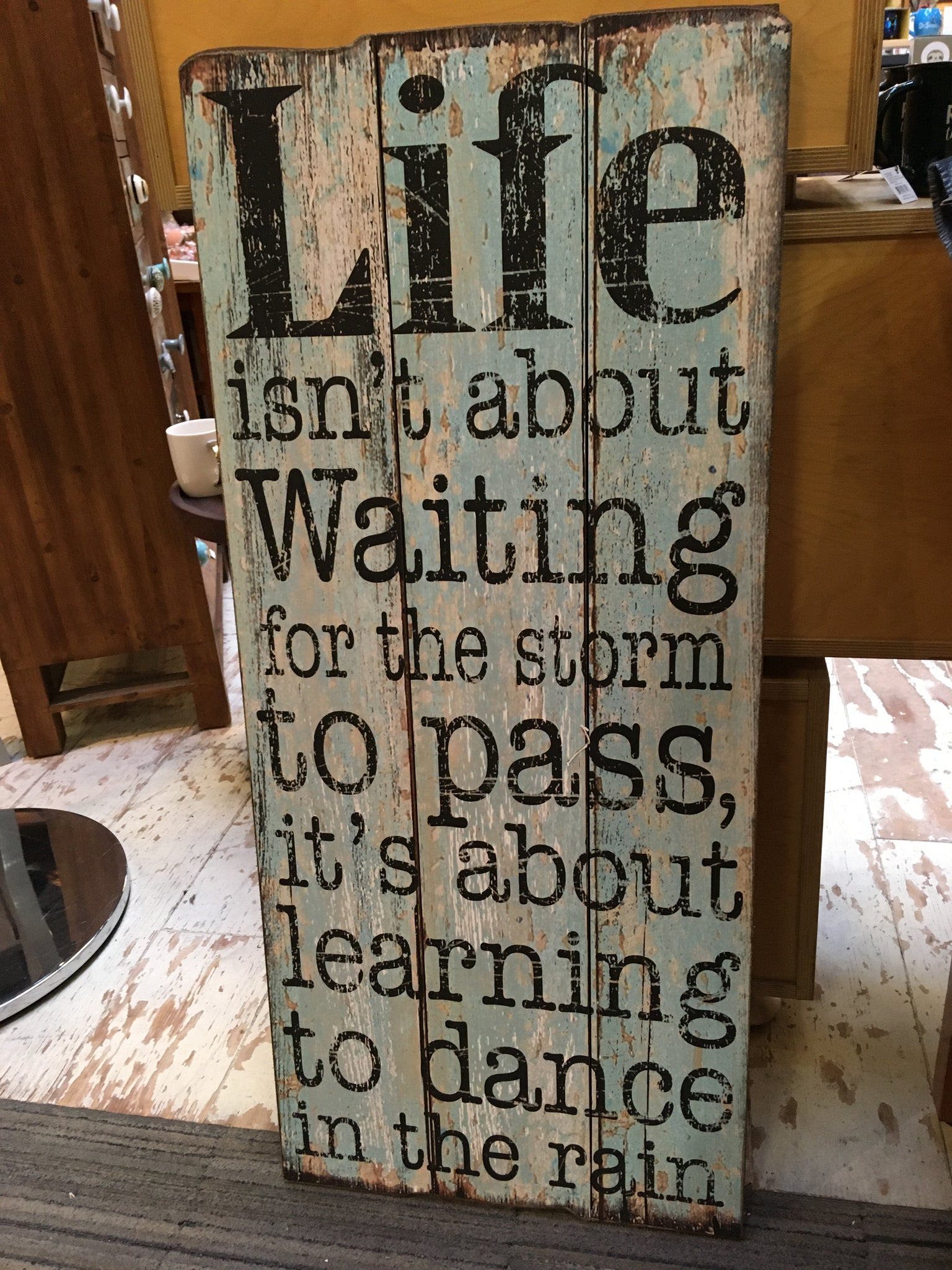 LIFE LEARNING SIGN