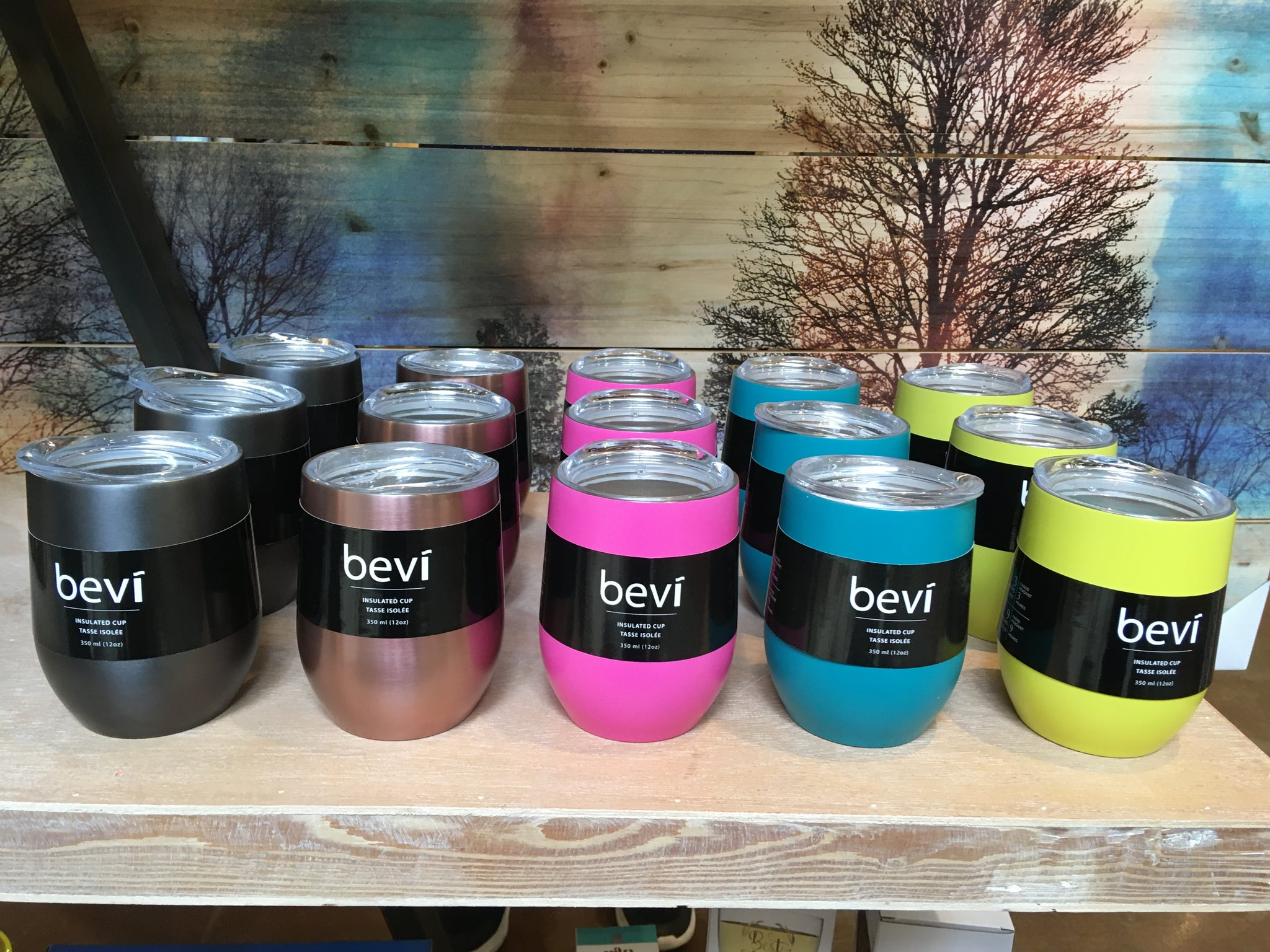 BEVI - INSULATED CUP - GUNMETAL