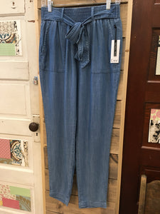TENCEL BLUE WASH PANT