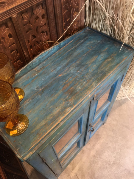 TEAK COUNTRY SIDE CABINET