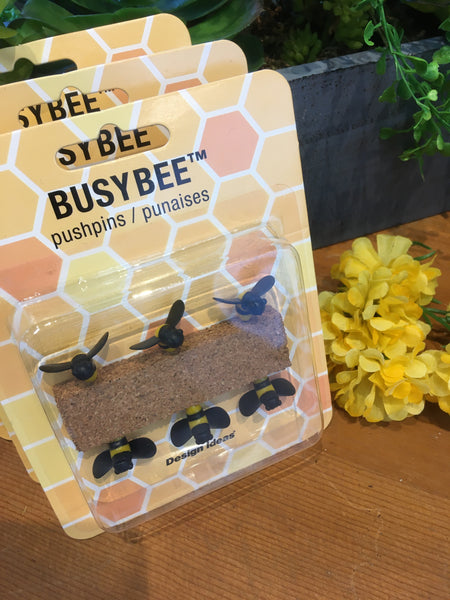 BUSY BEE PUSH PINS