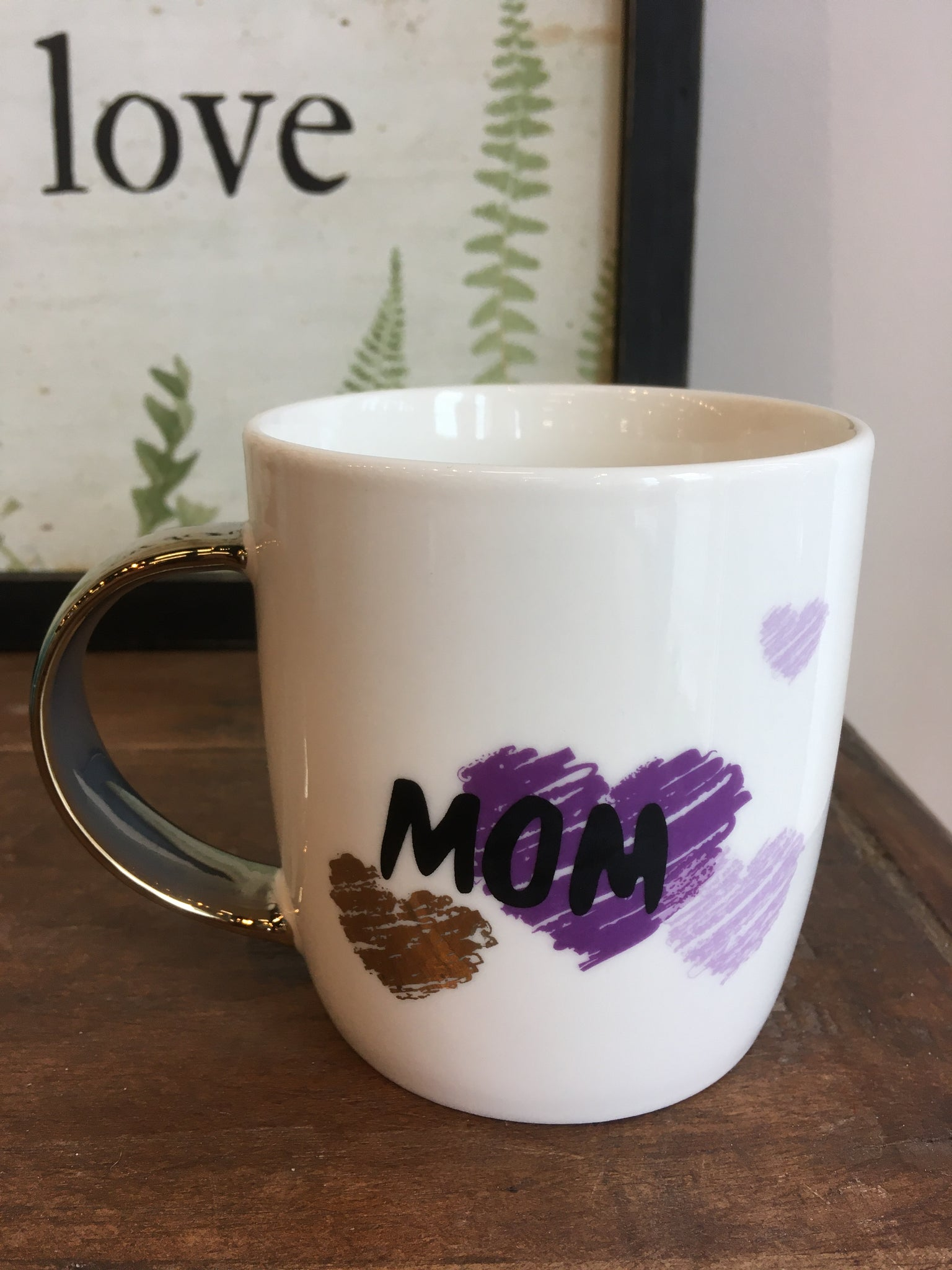 MOM PORCELIAN MUG