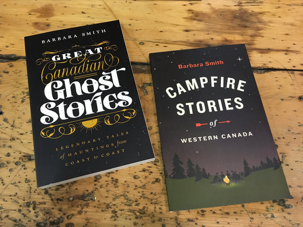 CAMPFIRE STORIES OF WESTERN CANADA - BOOK
