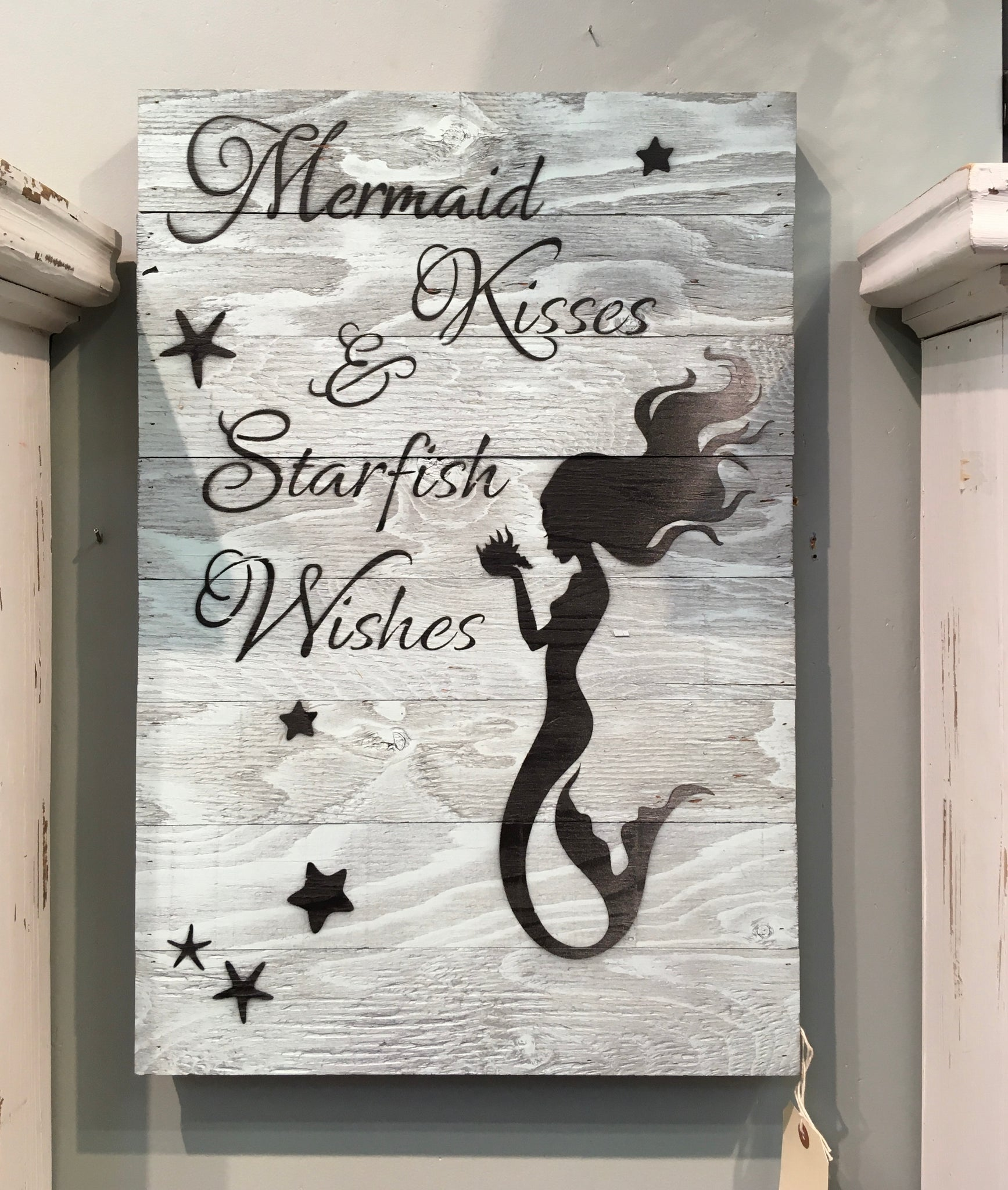 MERMAID KISSES - SIGN