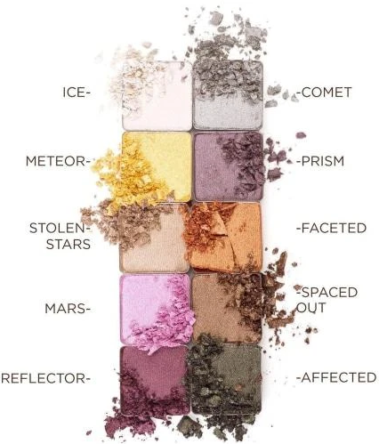 CRYSTAL MATRIX - COCONUT INFUSED MINERAL EYESHADOWS