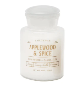 APPLEWOOD & SPICE SOY CANDLE - 8 OZ