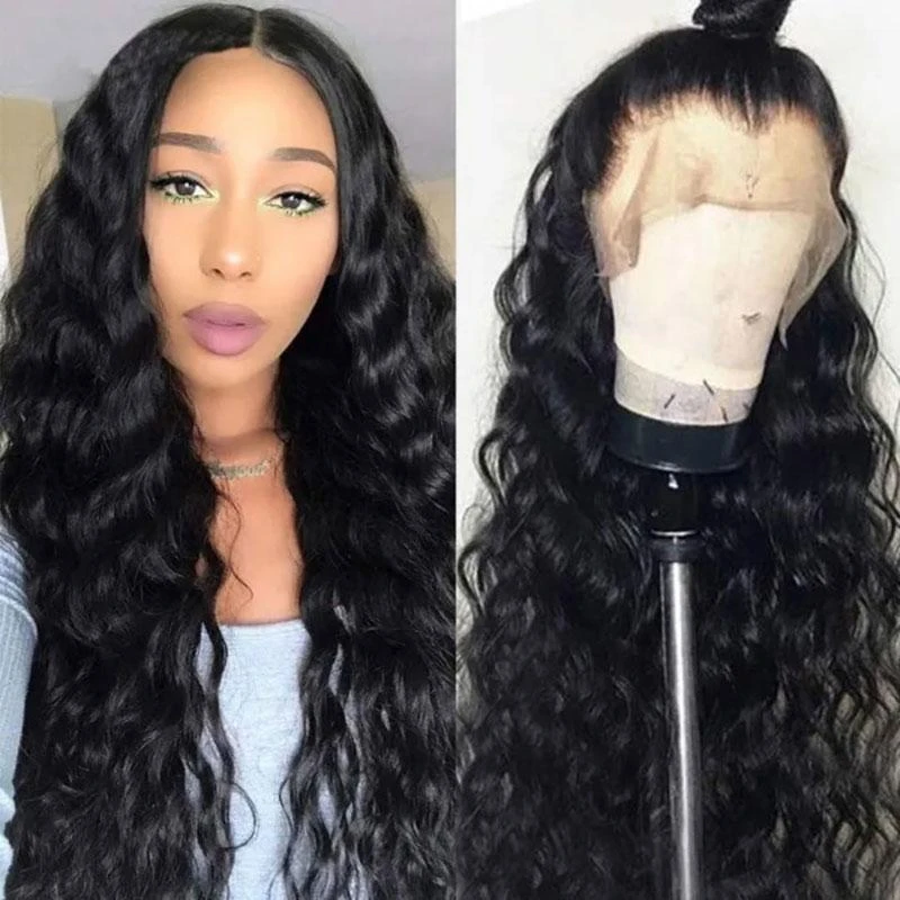 Perruque de Cheveux Full Lace Wig Ondulés (Loose Wave)