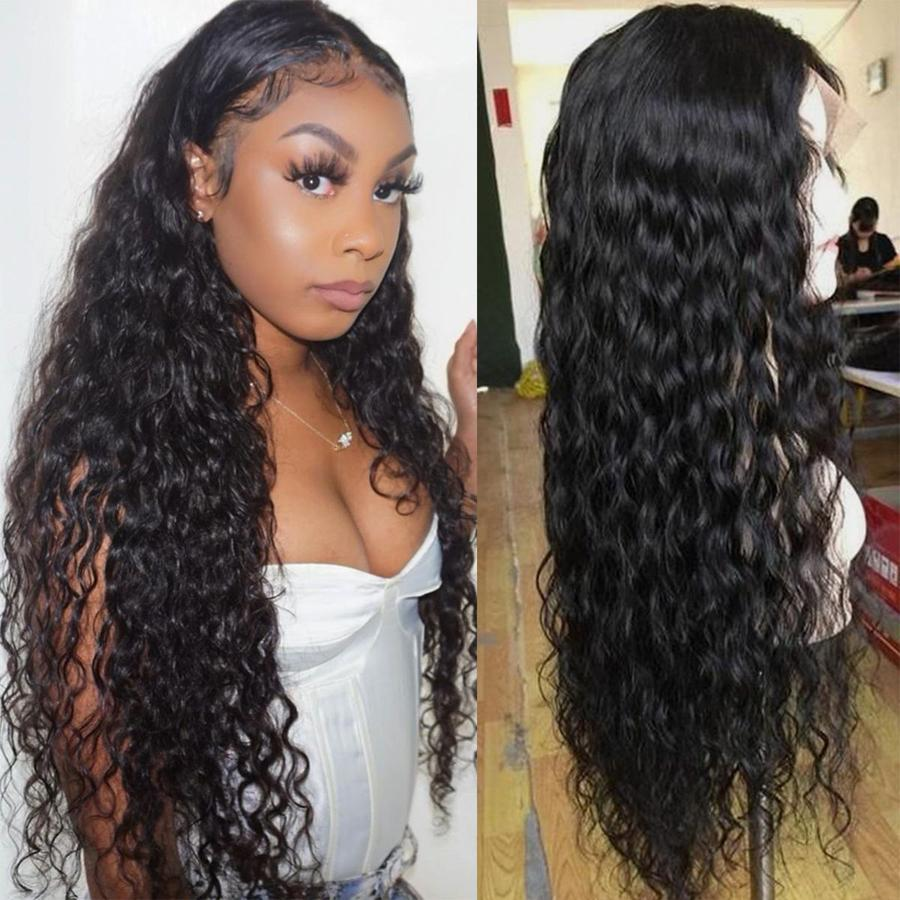 Perruque de Cheveux Full Lace Wig Bouclés (Water Wave)