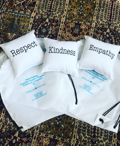 Kindness, Respect & Empathy Pillows Tri-Pack