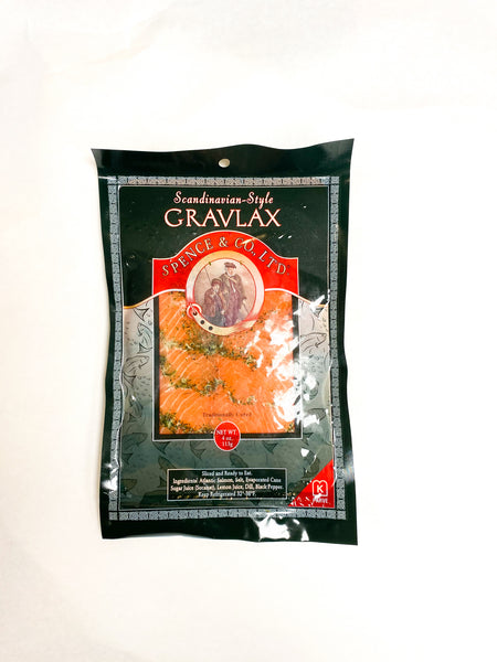 Salmon Gravlax (6, 4 oz. packs)
