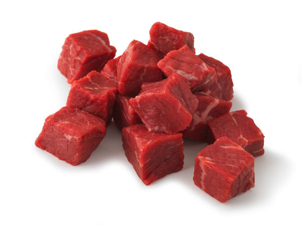 USDA PRIME Frozen Top Sirloin Cubes (10 lb. case contains two 5 lb. bags)