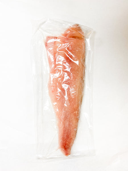 Frozen Whitefish Fillet Skin-On Individually Vac-Packed (11 lb. case)
