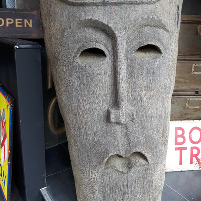 Huge Vintage Tribal Mask