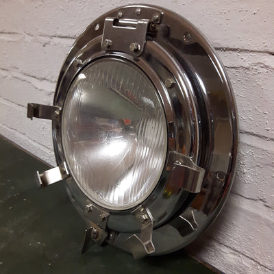 French Locomotive Head Lamps (Pair)