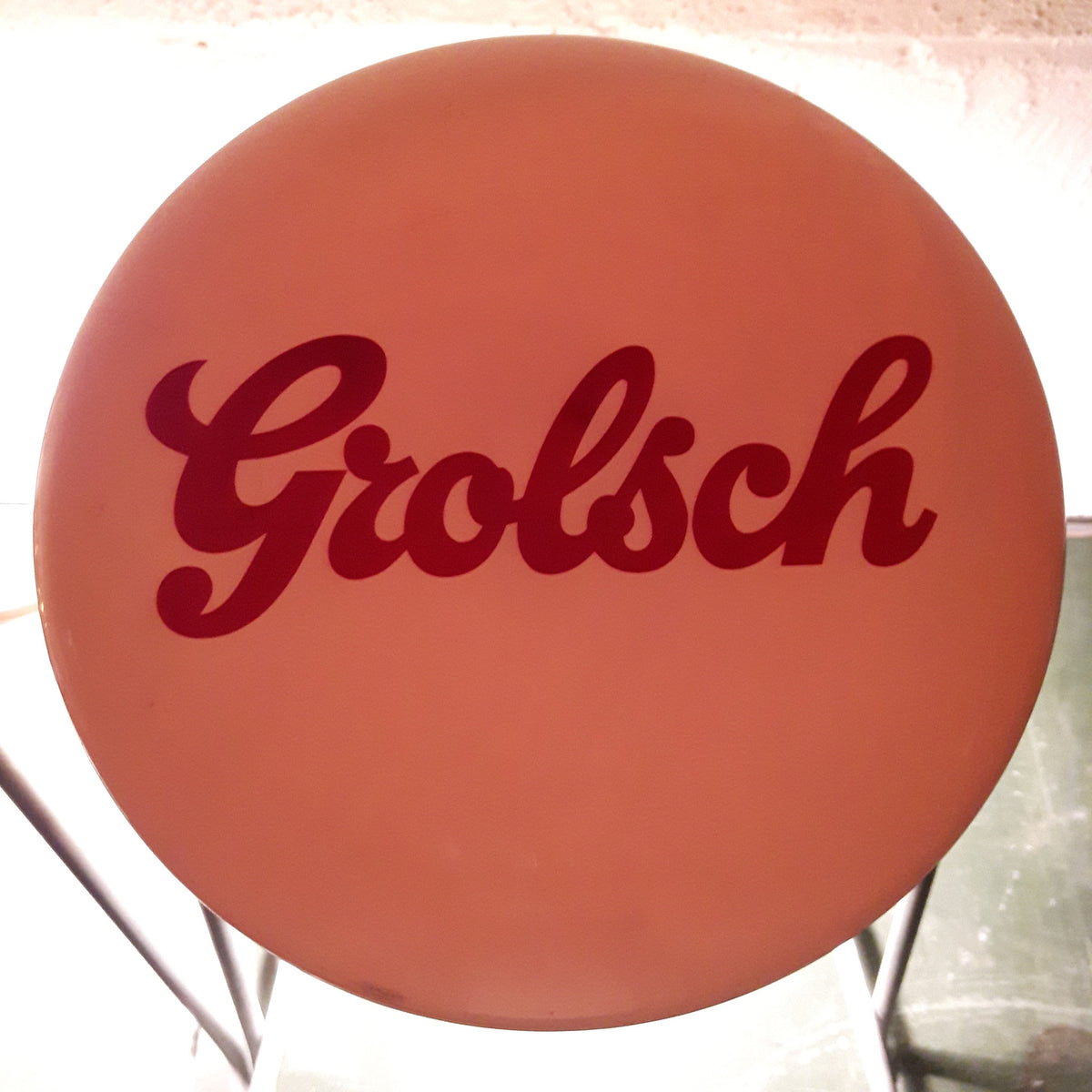 Grolsch Bar Top Lamps (Pair)