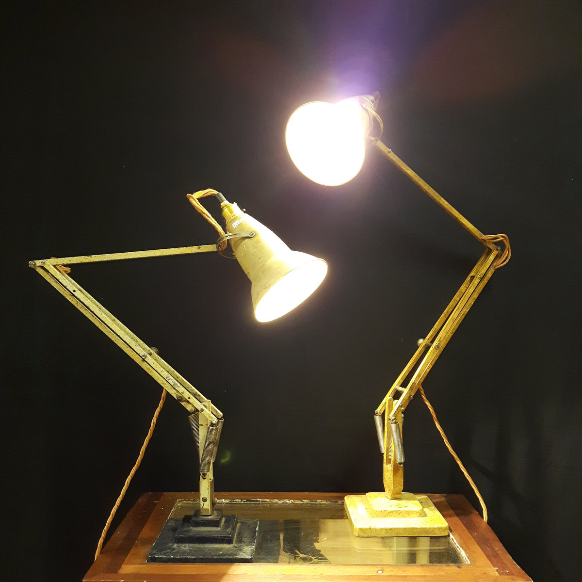 Herbert Terry 1227 2 Tier Lamp