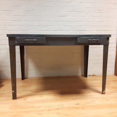 Industrial Metal Desk