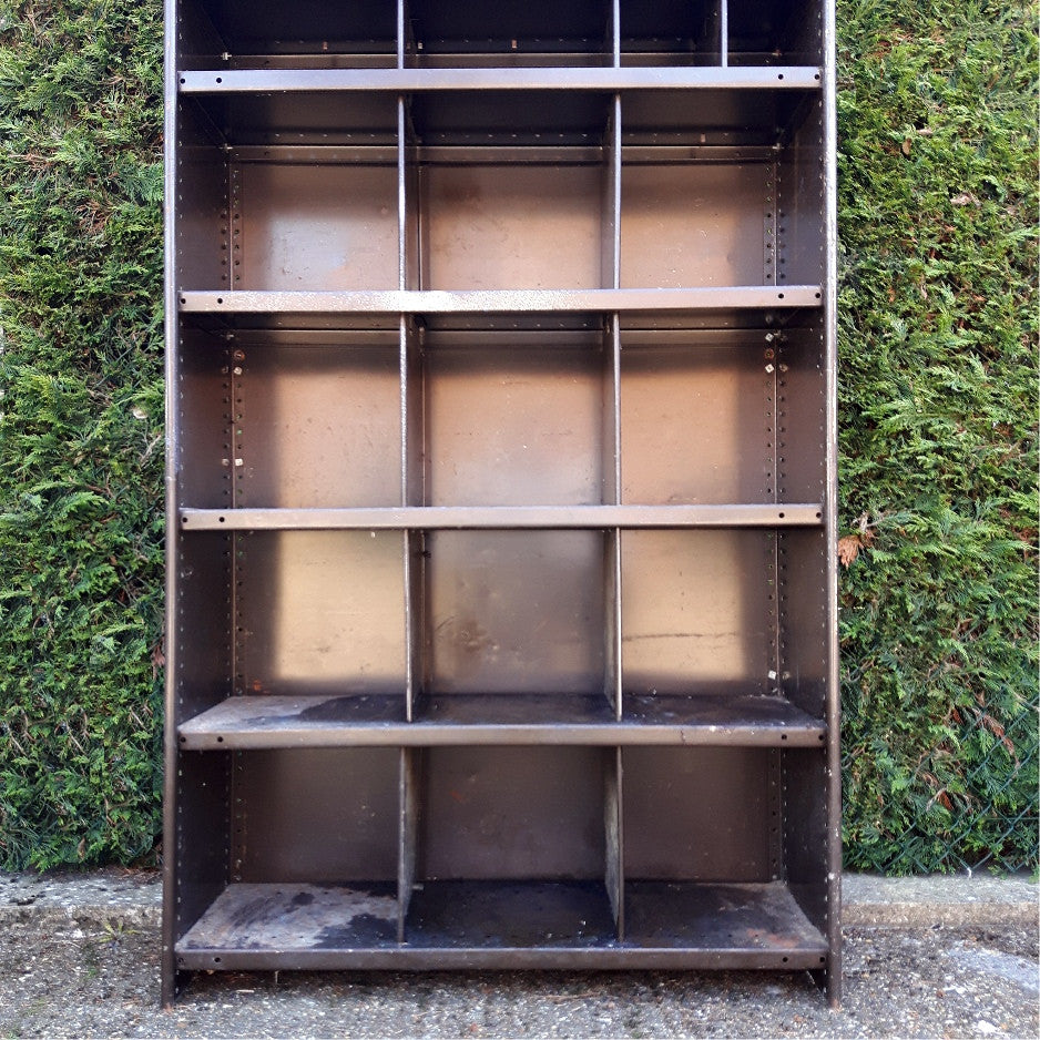 Large Industrial Pigeonhole Cabinet