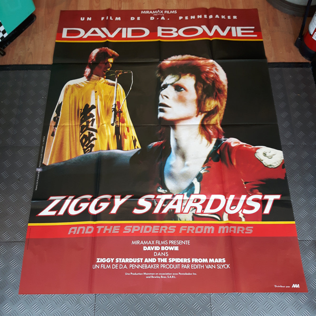 Ziggy Stardust Movie Poster