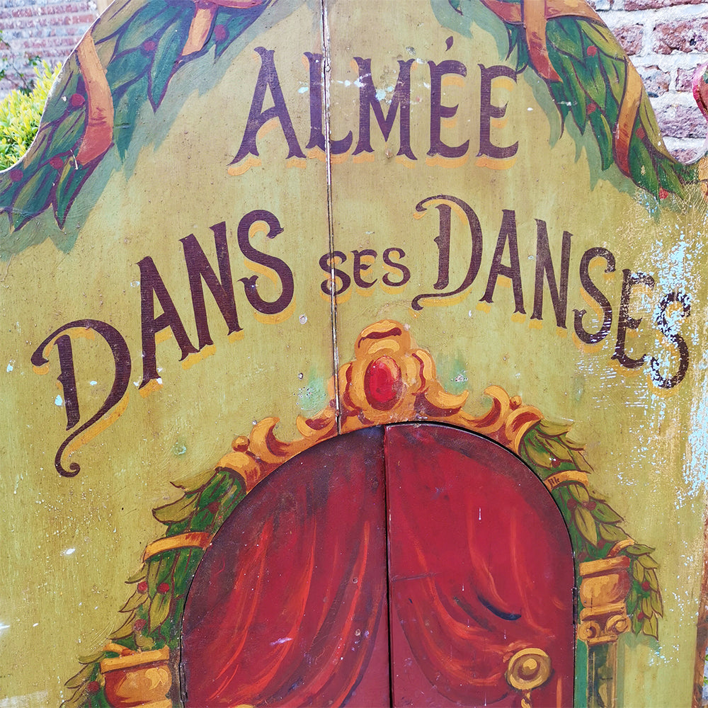French Fairground Panel