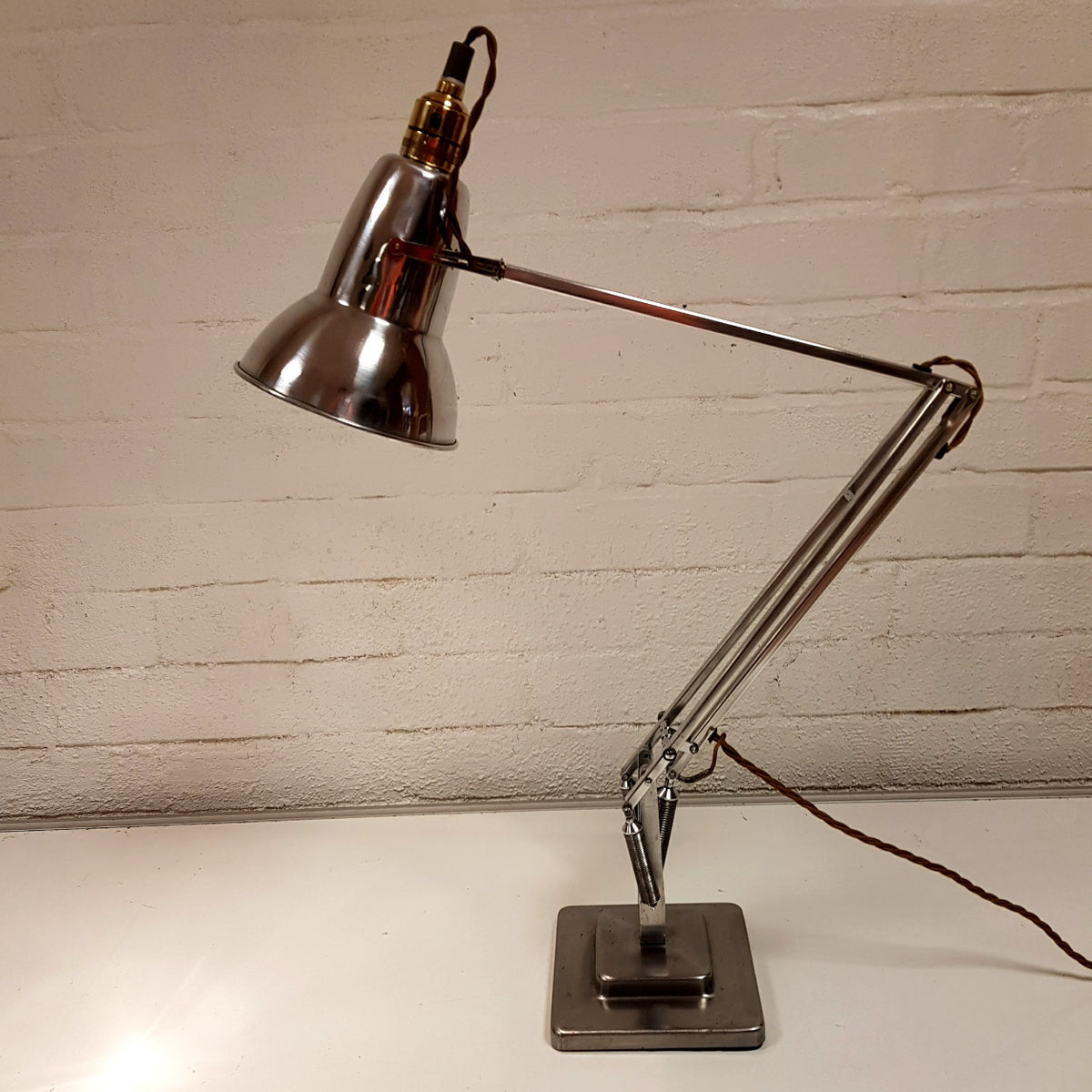 Polished Herbert Terry Anglepoise Lamp