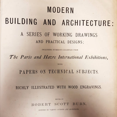 Modern Building and Architecture Book