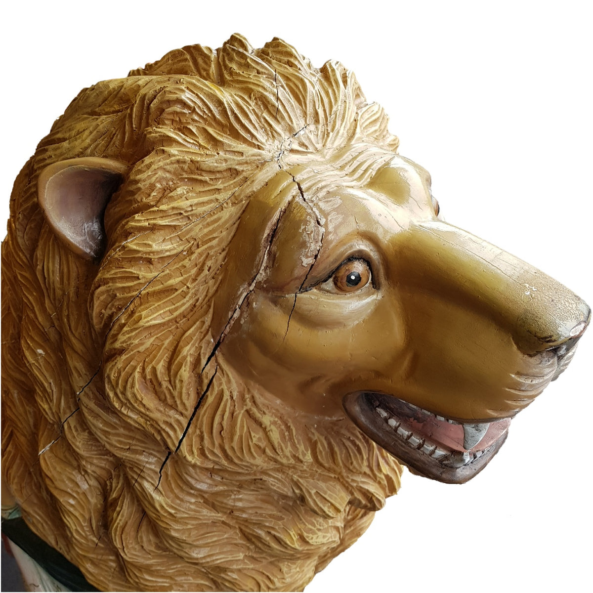 Fairground Lion Figure