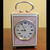 Asprey JTC guilloche enamelled miniature carriage clock