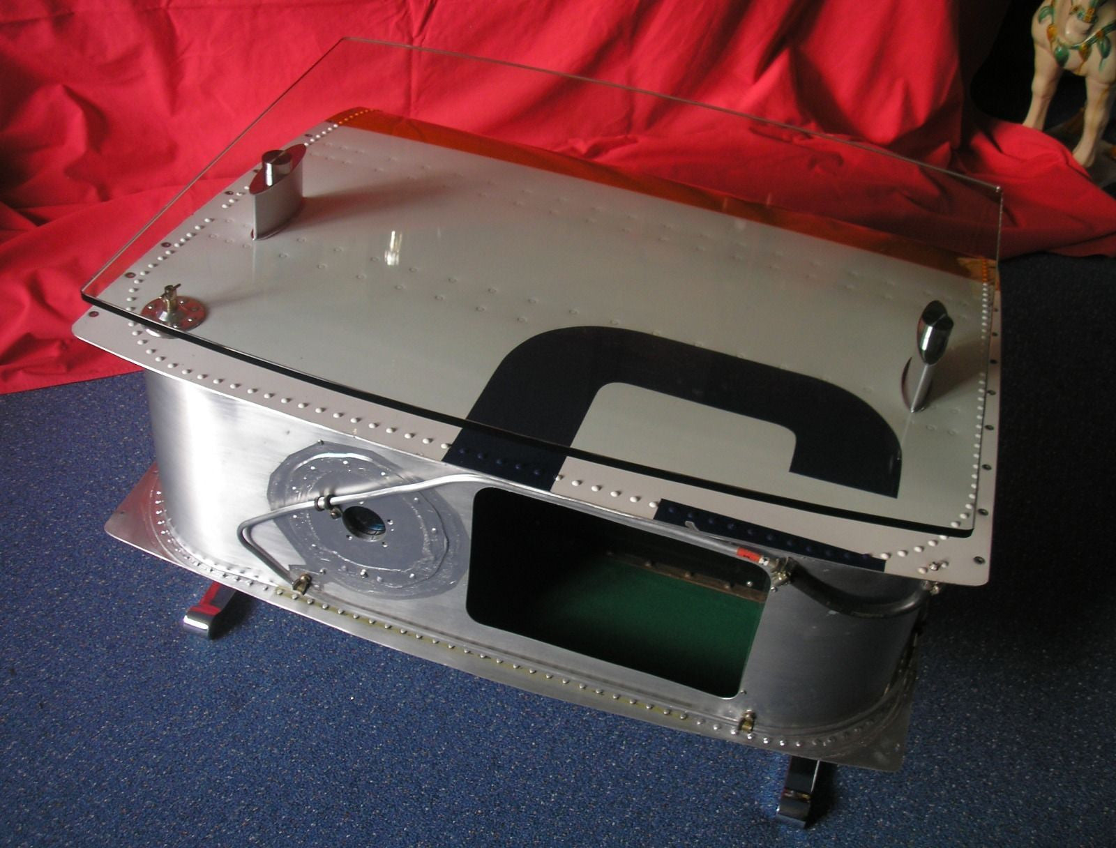 Aircraft Wing Tank Coffee Table Home Alchemy