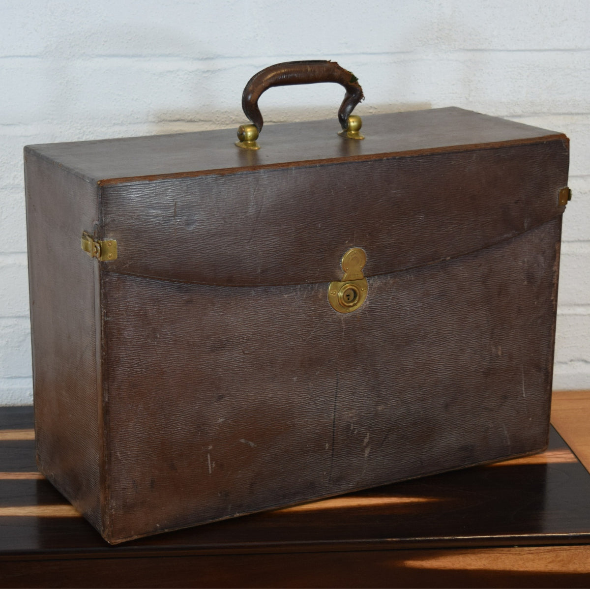 Victorian Leather Sample Case