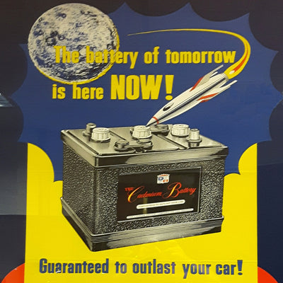 Cadmium Battery Advertisement