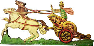Original Fairground cut-out panel from a Ben Hur Ark ride
