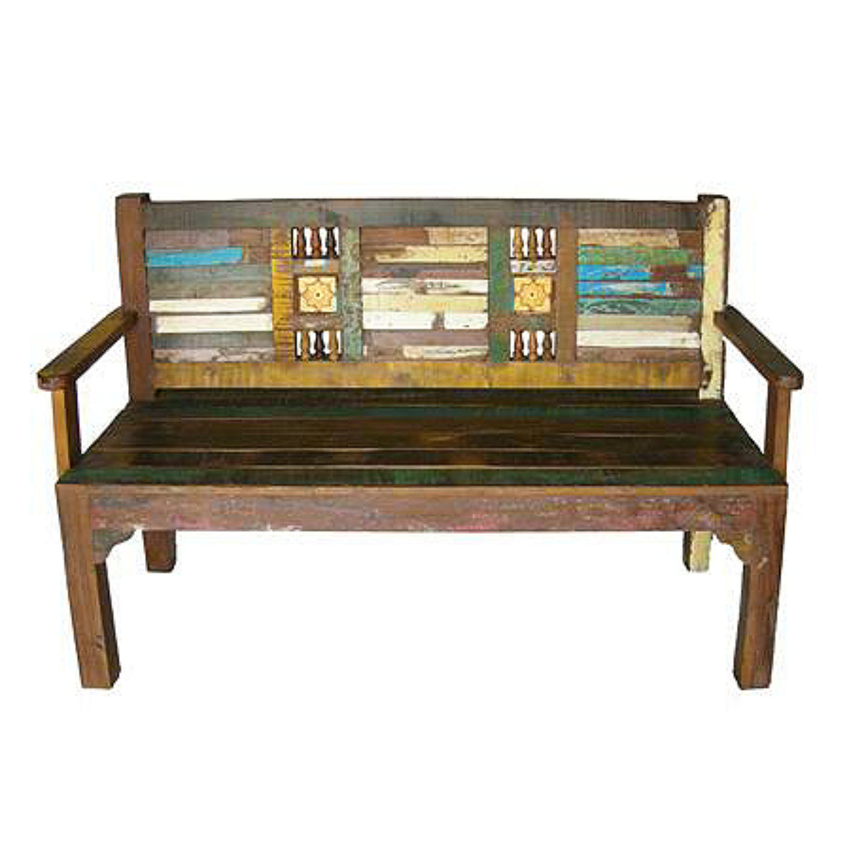 Upcycled Wooden Bench