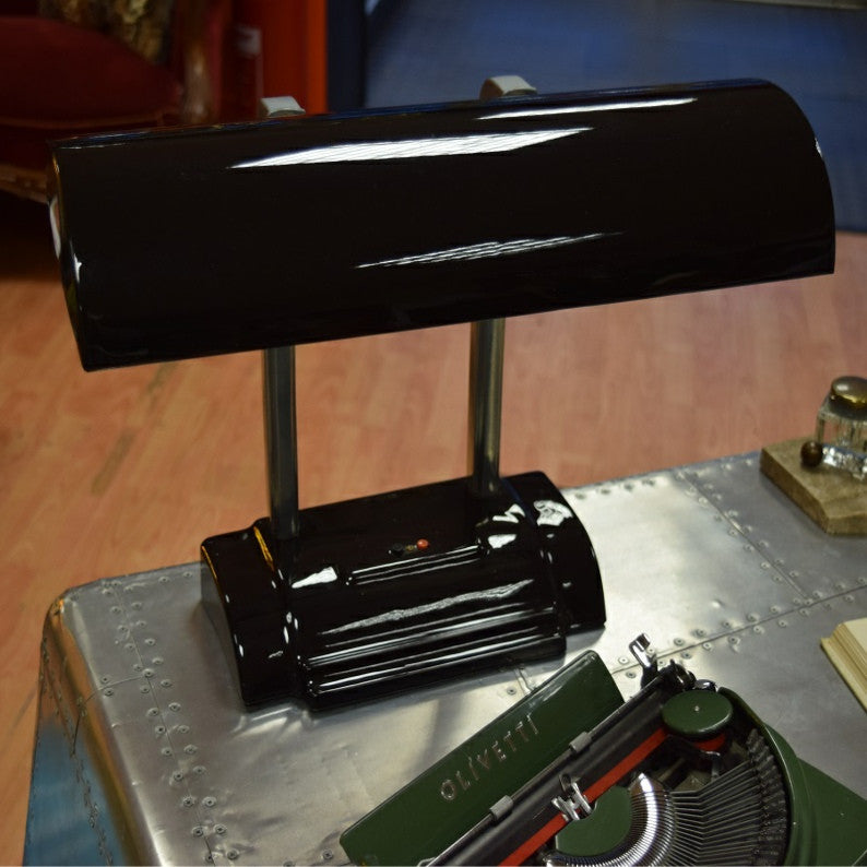 Black Lacquer Desk Lamp