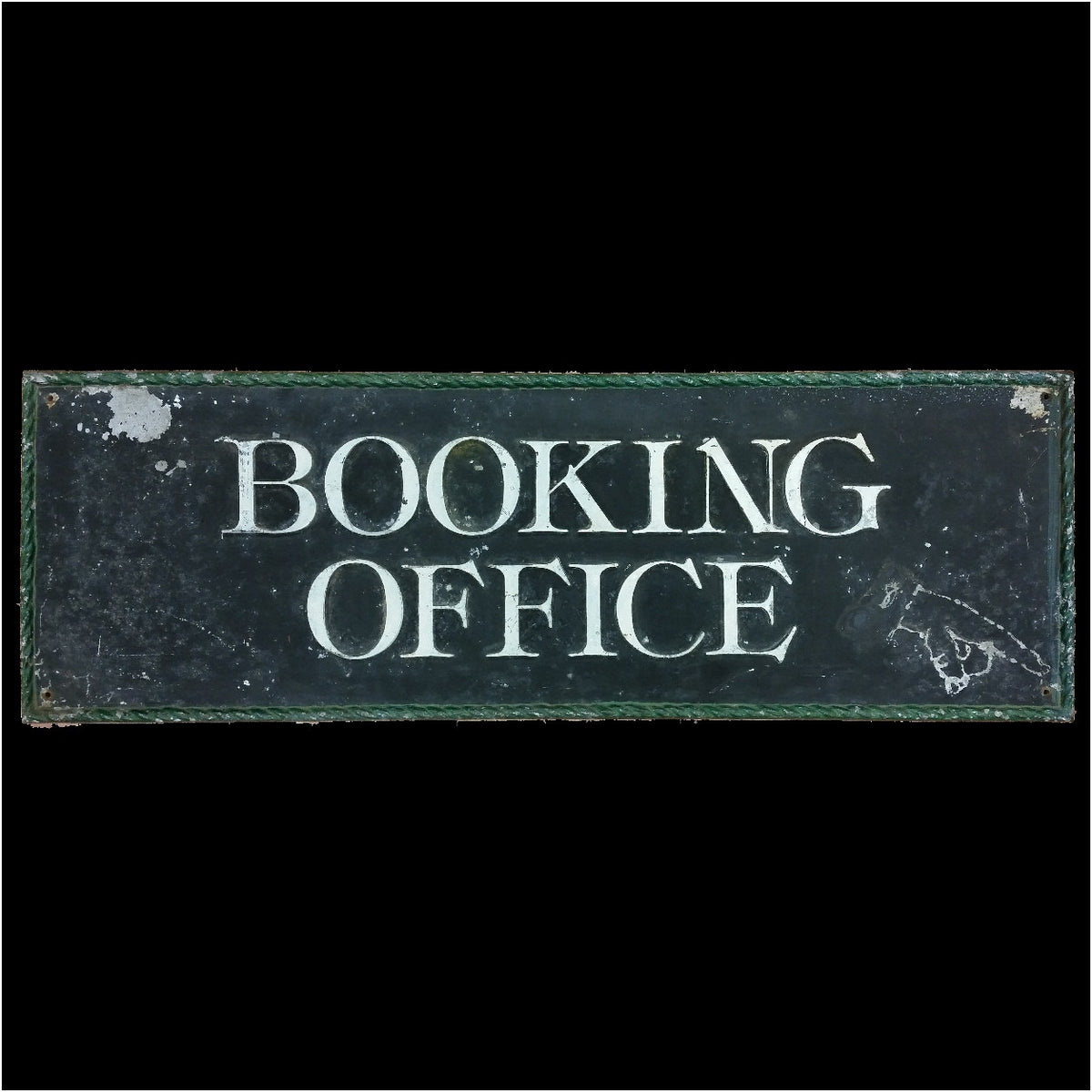 Booking Office Sign