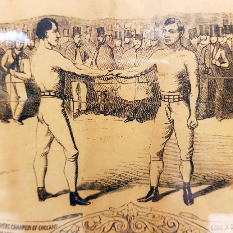 19th Century Boxing Poster