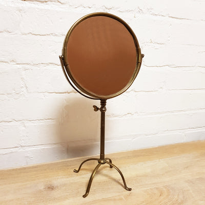Brass Adjustable Shaving Mirror